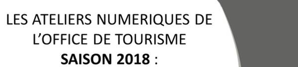 Relance Ateliers numériques de l'Office de Tourisme