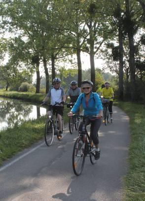 Plan des voies cyclables de Chalon sur Saône