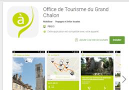 Appli mobile Tourisme