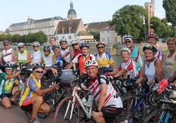 Cyclotourisme à Chalon sur Saône