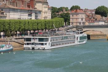 Bateaux de croisière Quai des Messageries Chalon sur Saône