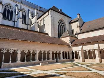 Cloître de la Cathédrale Saint Vincent Chalon sur Saône