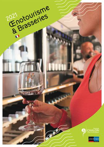 Guide œnotourisme et brasseries Grand Chalon