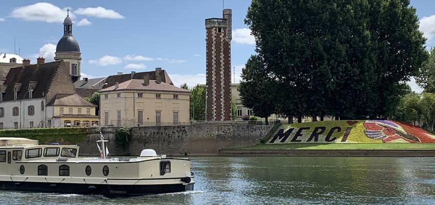 Promenade sur la Saône