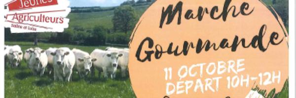 Marche gourmande à Fontaines le 11 octobre