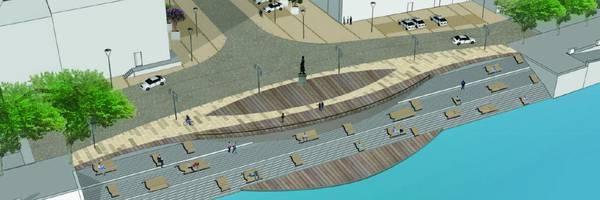 <h3>Un nouveau visage pour la Place du Port Villiers</h3>
