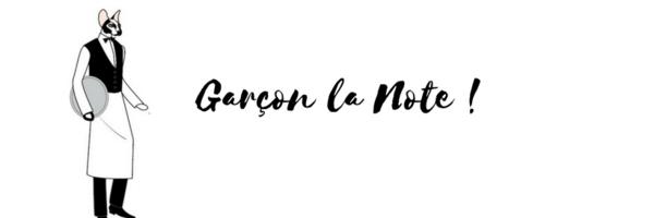<h3>Garçon la note !</h3>