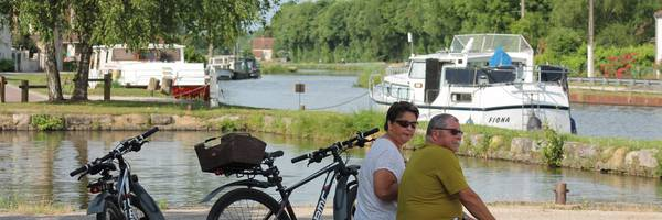 La voie bleue : Moselle Saône à vélo