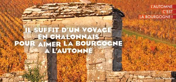 Newsletter de l'Office de Tourisme du Grand Chalon - Octobre 2021
