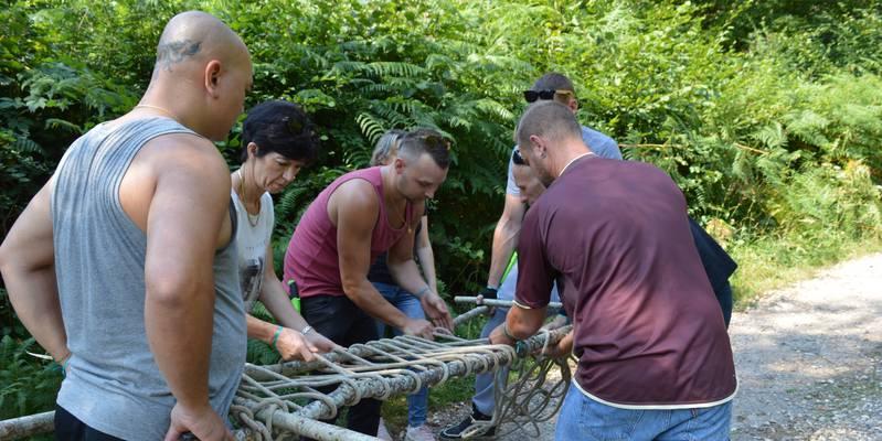 Team-Building in Süd Burgund