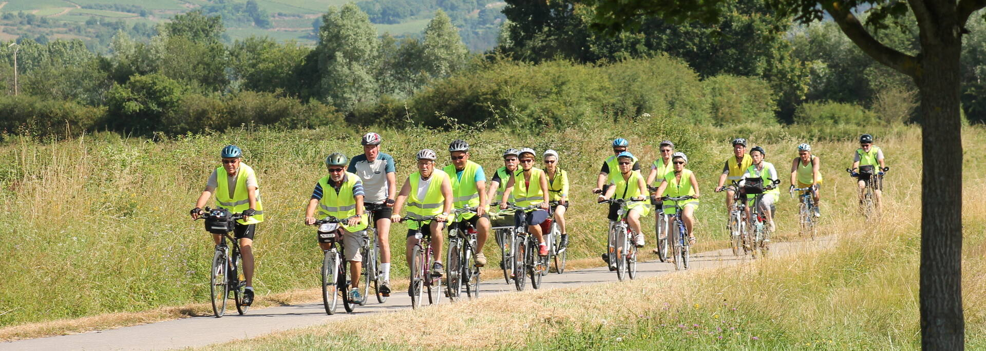 Voie verte Chalon-sur-Saône Macon - © Office de Tourisme