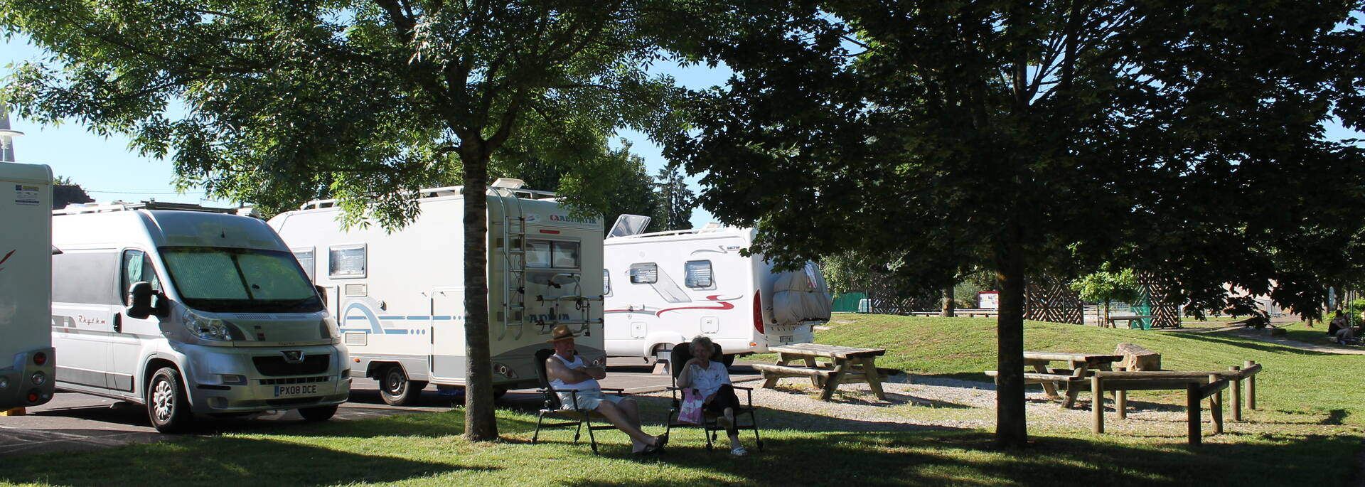Givry voies vertes camping-car