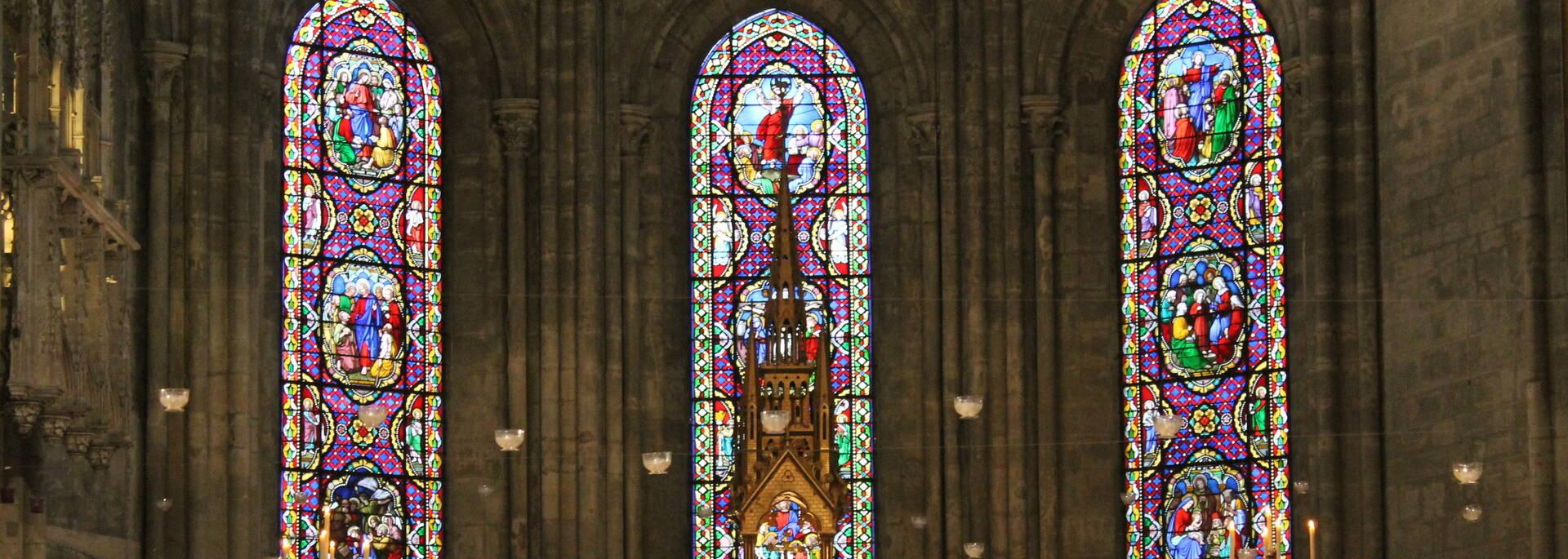 Cathédrale Saint-Vincent, messe Paulee - © Office de Tourisme