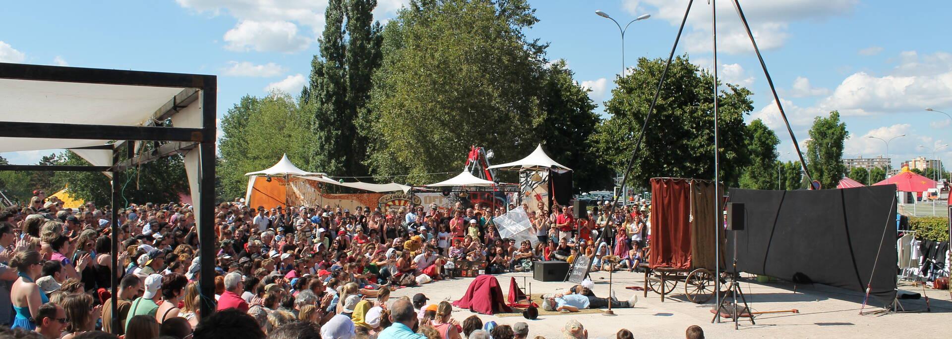 Festival Chalon dans la Rue en famille