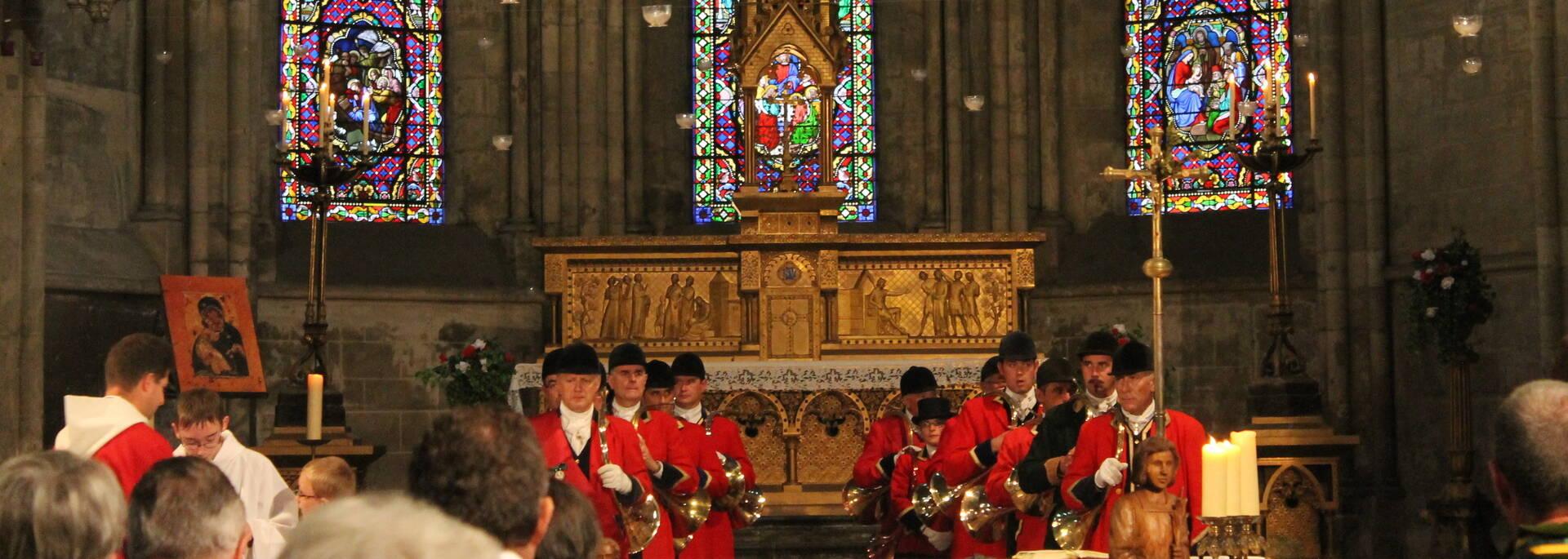 Messe de la Paulée de la Côte Chalonnaise Cathédrale Saint Vincent