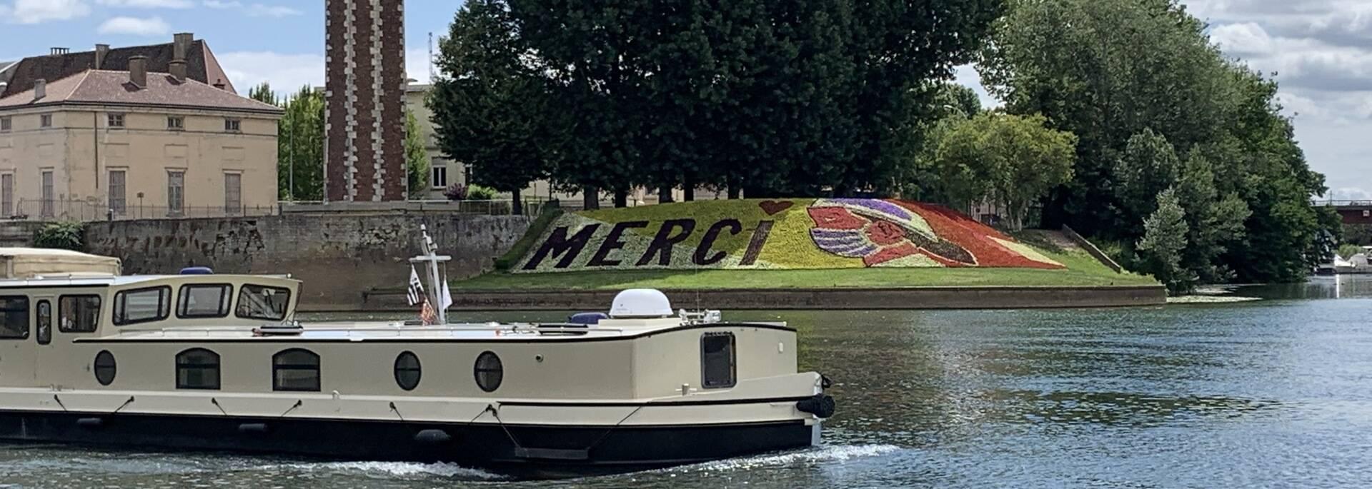 Quais de Saône et cœur de ville de Chalon sur Saône, tour du Doyenné