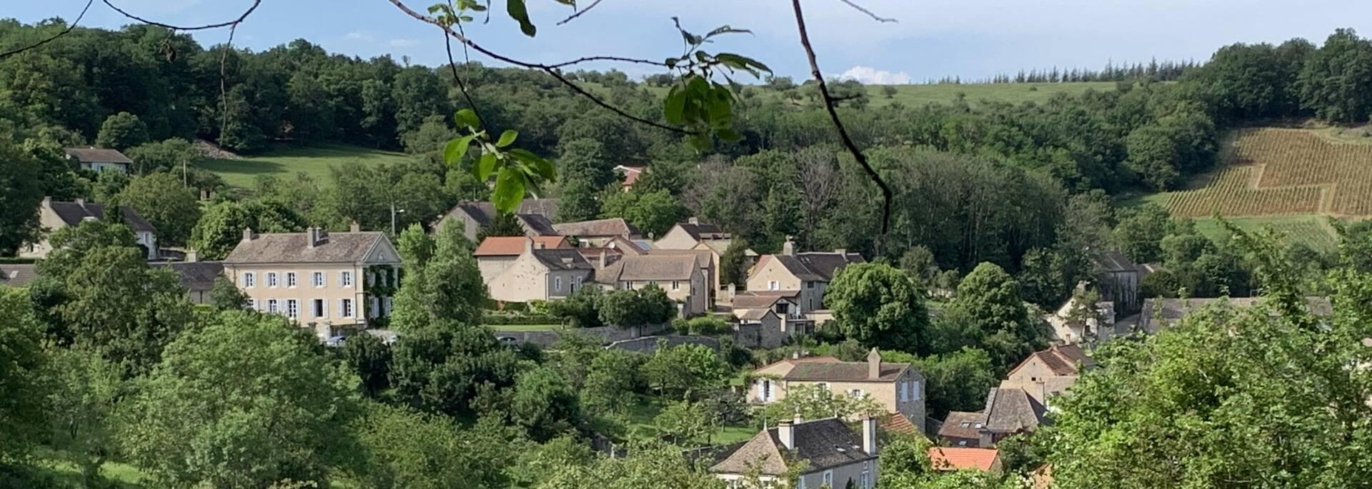 Randonnée Givry Russilly Côte Chalonnaise