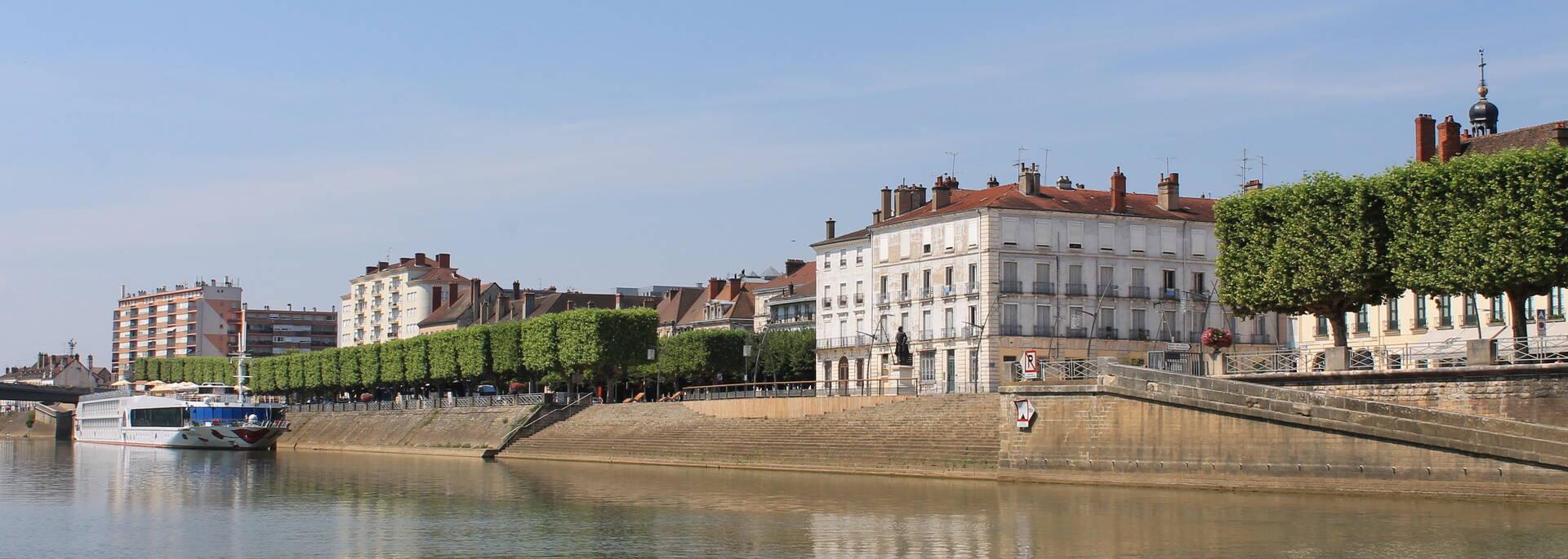 Chalon promenade bateau balades sur Saône