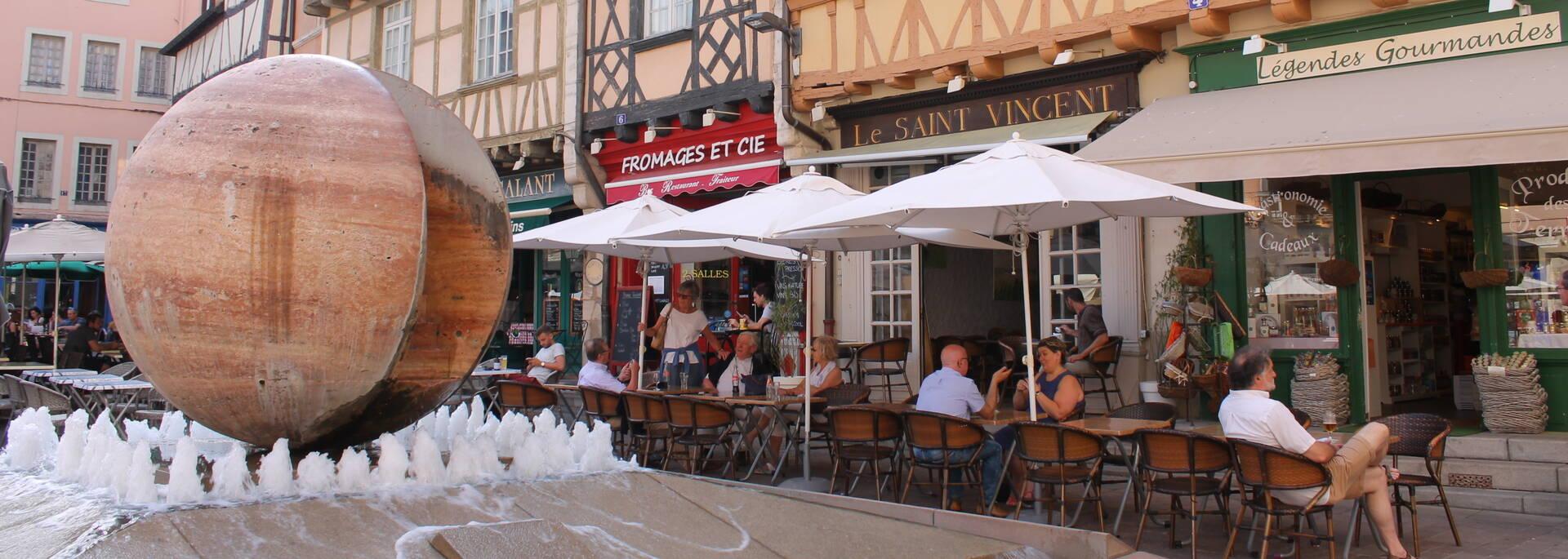 Place Saint Vincent Chalon sur Saône