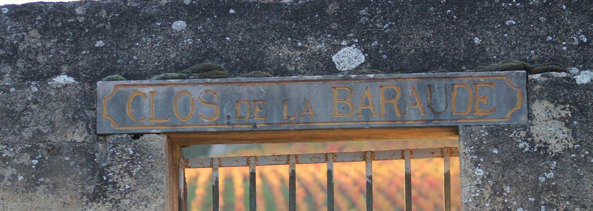 Clos viticole de la Côte Chalonnaise et des Maranges