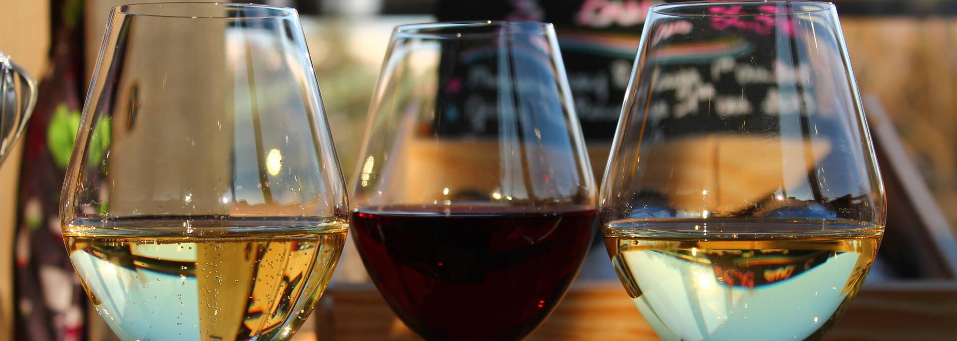 Chardonnay, pinot noir et crémant